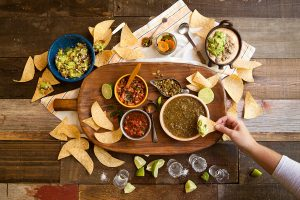 Jack Allen's Kitchen salsa spread